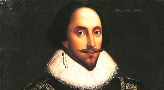 John Shakespeare in a Tudor style portrait
