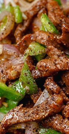 Black Pepper Beef Stir Fry #recipes #dinner ideas #dinnerideasfortonight #food #foodporn #healthy #yummy #instafood #foodie #delicious #dinner #breakfast #dessert #lunch #vegan #cake #eatclean #homemade #diet #healthyfood #cleaneating #foodstagram