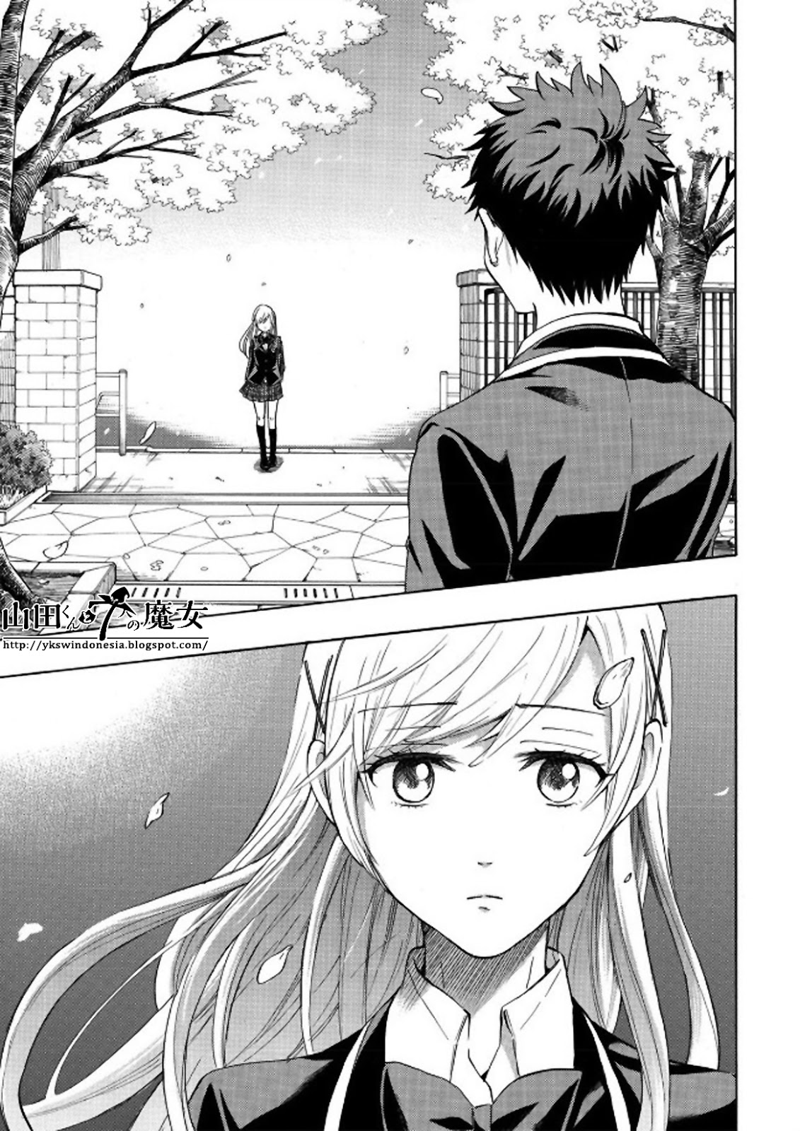 Yamada-kun to 7-nin no Majo Chapter 241-9