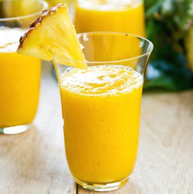 Licuado de mango receta con piña