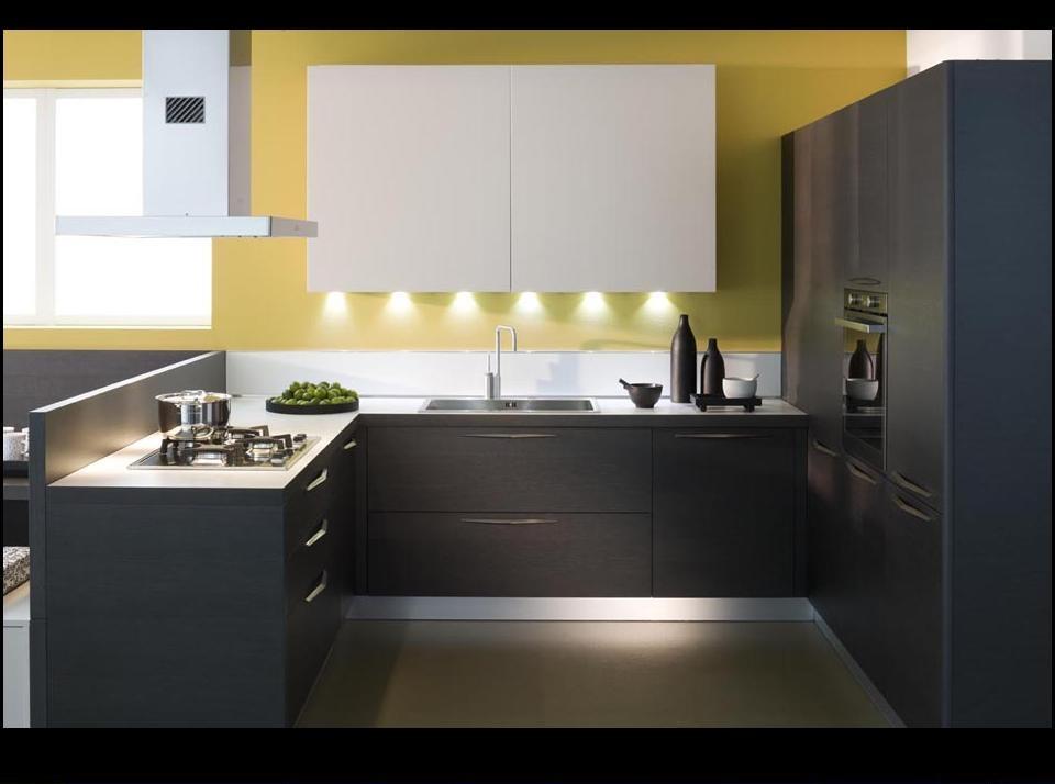 Domus arredi una cucina total black il nero il colore for B b arredi