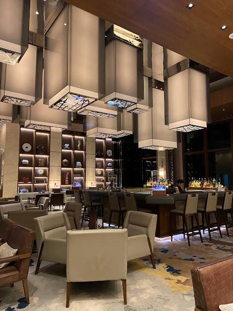 Checked in: Manila Marriott hotel