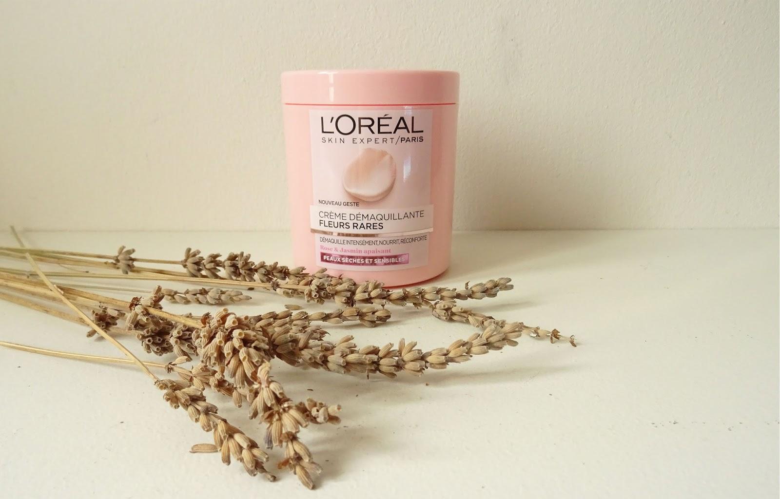 La crème démaquillante Fleurs rares L'Oréal