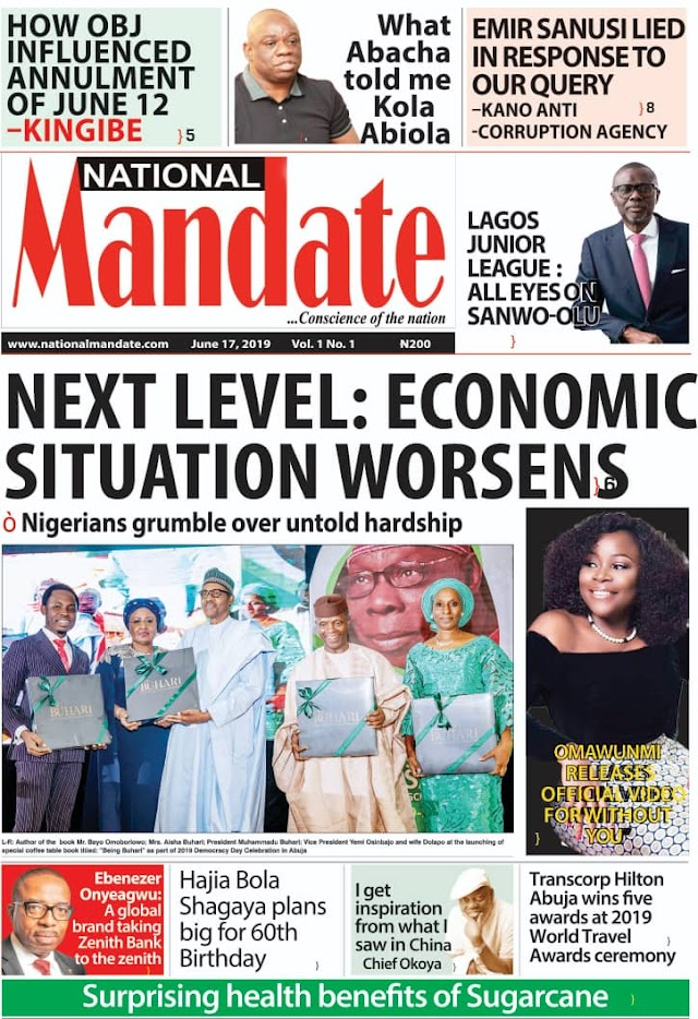 Investigative Reference Point: National Mandate Hits Newsstands Today
