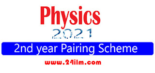 2nd year physics pairing scheme 2021