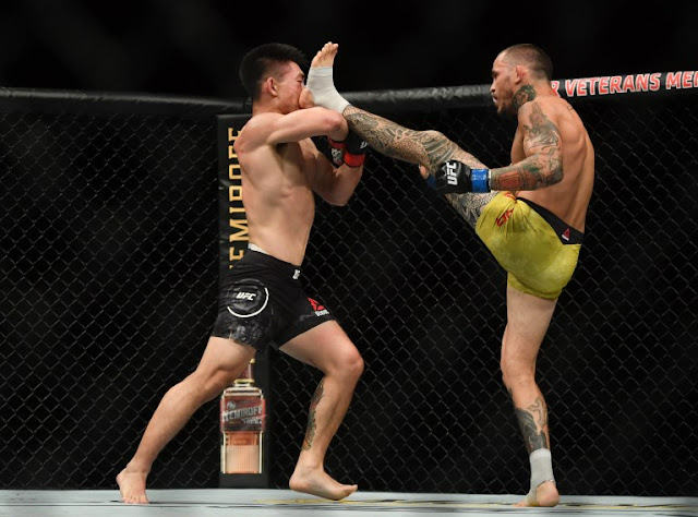 Marlon Vera Kicks Song Yadong Face UFC on ESPN 8