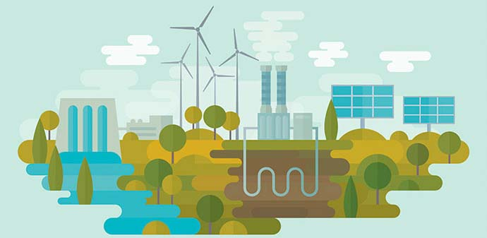 Sumber energi listrik yang dapat diperbaharui