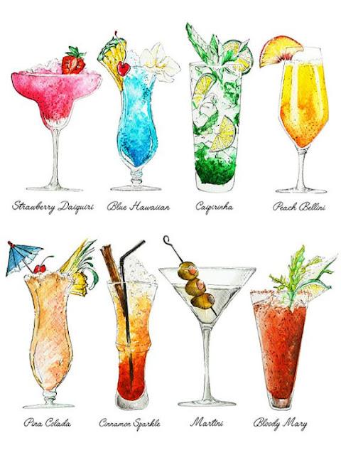 Le cinque bevande alcoliche preferite di una (quasi) astemia.