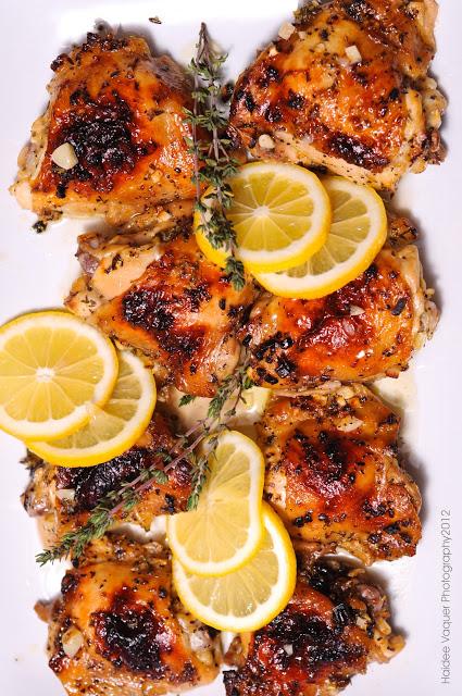 Lemon-Garlic Chicken #Recipe