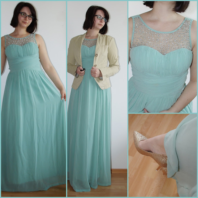 [Fashion] Enchanted Embellished Mint Dress  Mintfarbenes Abendkleid für Hochzeit