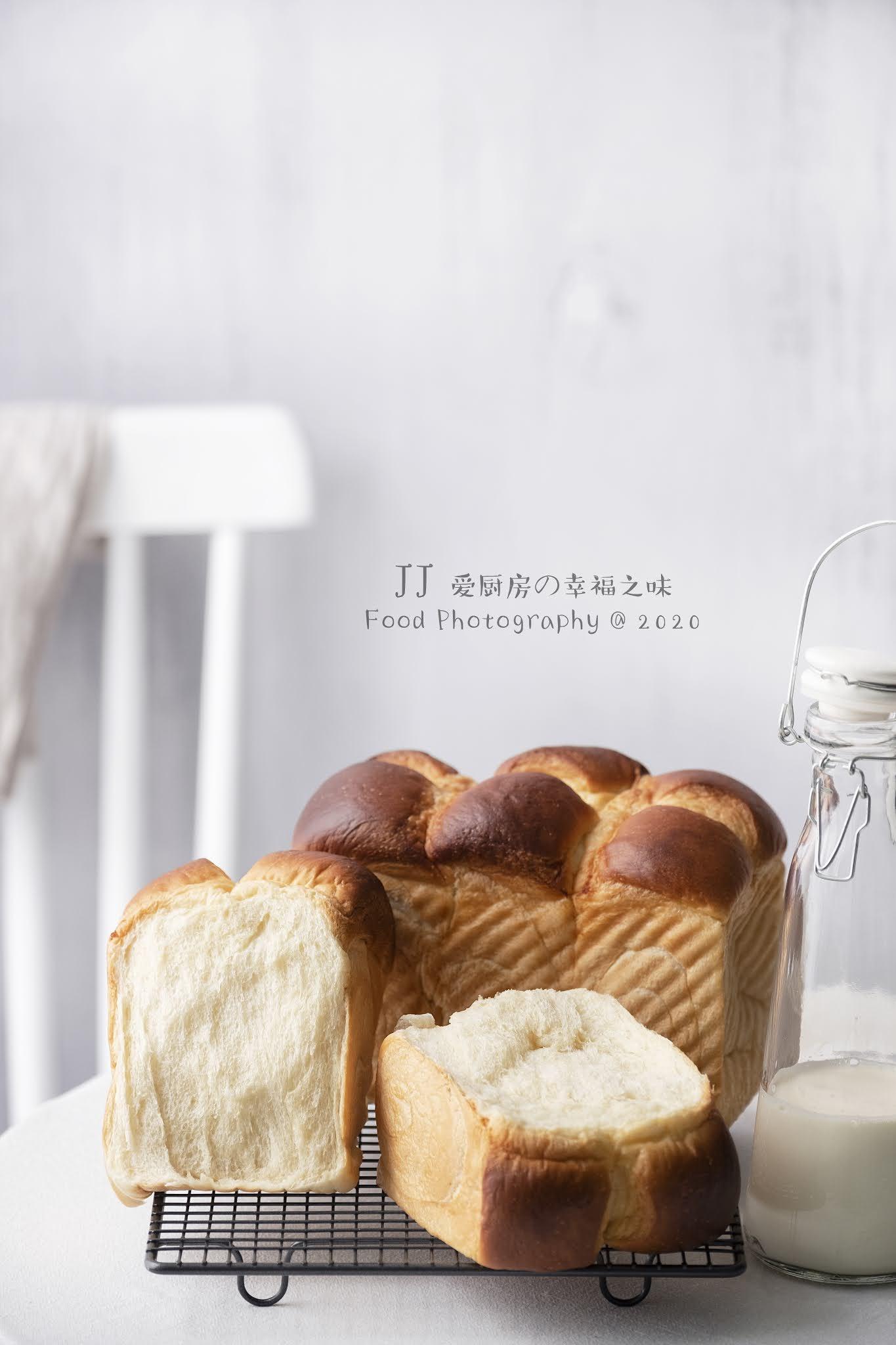 愛廚房的幸福之味: 皇后吐司(直接法)Queen Toast