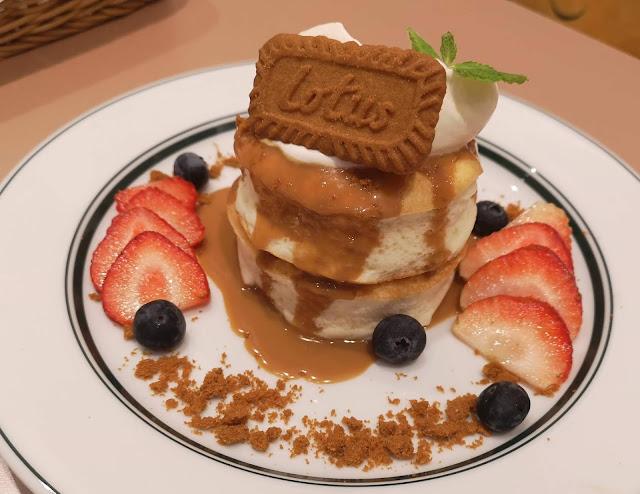 Lotus Biscoff Premium Pancakes