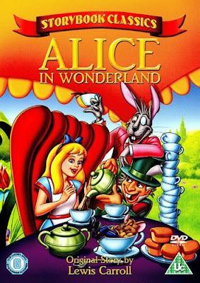 Póster película Alicia en el país de las maravillas - 1988