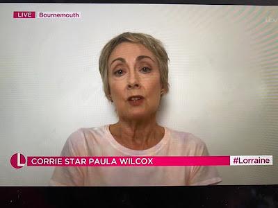 Paula Wilcox on Lorraine
