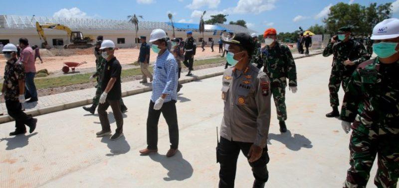 Fasilitas Observasi Covid-19 di Ex Camp Vietnam Sudah 78 Persen