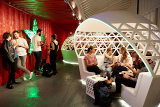 Green Pear Diaries, interiorismo, marketing, Pop Up Store, Heineken, Pop Up City Lounge, Londres
