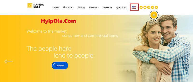 [SCAM] Review Rapida Best - Site đầu tư trung hạn - Lãi 4.4% hằng ngày - Hoàn vốn