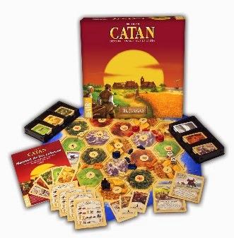 Caja del juego básico de Los Colonos de Catan