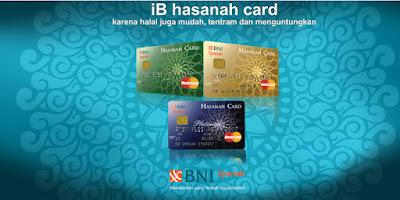Gambar Kartu Kredit BNI Syariah
