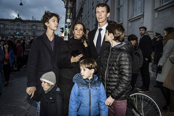 Prince Joachim And Princess Marie Were At French Embassy In Copenhagen