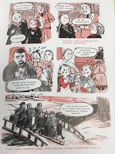 Reetta Niemesivun piirtämästä tarinasta