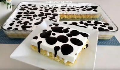 الكيكة المنقطة سهلة وهشة