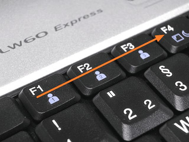 fungsi tombol f1 sampai f12 di laptop