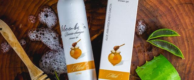 Shampoo-Doccia Miele e Aloe Arborescens
