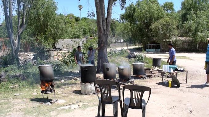 Ollas Populares y una Posta Sanitaria mostró un reclamo de Comedores en La Ribera