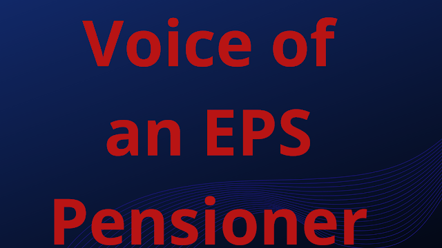 Voice of an Eps Pensioner 2020