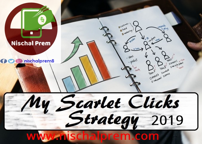 Earn online Money Viewing Ads with Scarlet Clicks trusted Paid to Click site