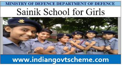 SAINIK SCHOOLS FOR GIRLS