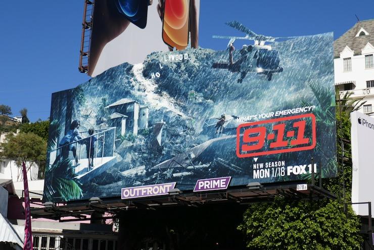 911 season 4 extension billboard