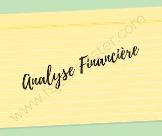 Cours Analyse Financière pour les étudiants inscrits en S4