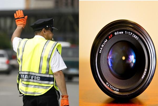 गुड़गांव ट्रैफिक पुलिस से अब रहें सावधान, उनकी वर्दी में छुपे होंगे इंग्लैण्ड के बने कैमरे