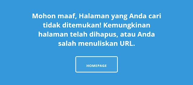 Halaman Error 404 Terbaru By Alfin Auzikri