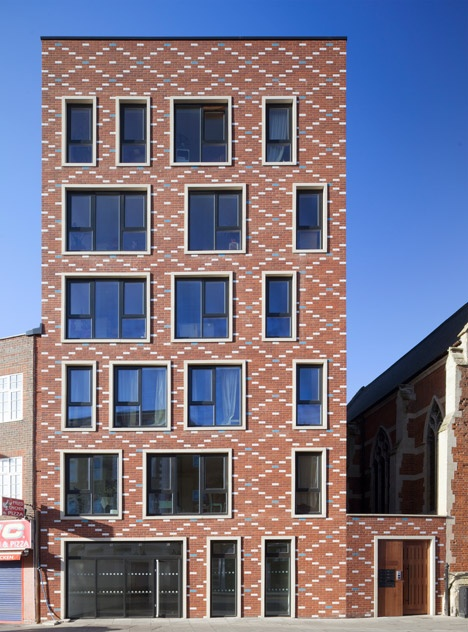 ideas for brick architecture. Black Bedroom Furniture Sets. Home Design Ideas