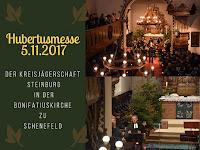 Hubertusmesse in der Bonifatius-Kirche zu Schenefeld