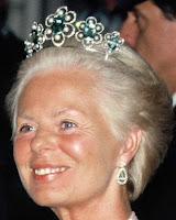 aquamarine enamel tiara georges fouquet pearl floral duchess kent