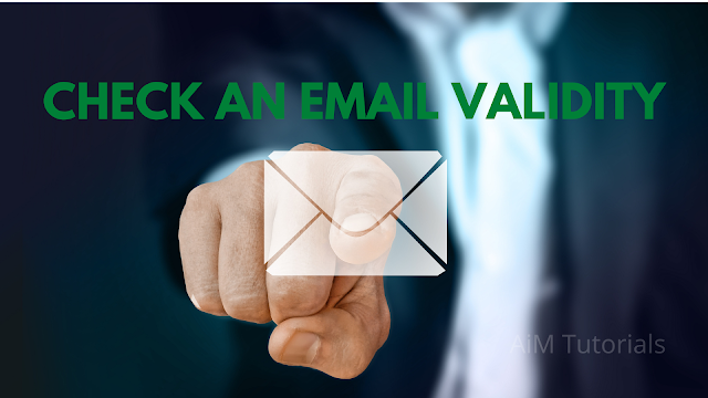 Check email validity