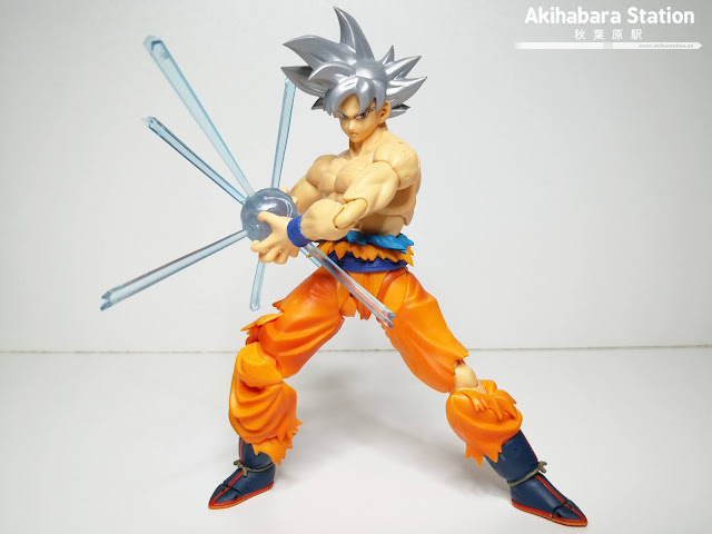 Review del S.H.Figuarts Son Goku Ultra Instinct de Dragon Ball Super - Tamashii Nations