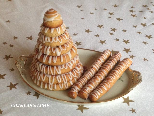 Opskrift på sukkerfri kransekagetop med Royal icing glasur CDJetteDCs LCHF