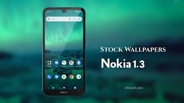 تحميل خلفيات نوكيا 1.3 Nokia الأصلية بجودة عالية الدقة