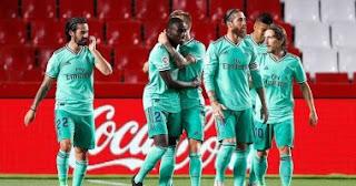 غرناطة ضد الريال ملخص المباراة والأهداف فى الدوري الاسباني