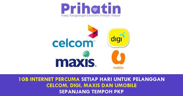 internet percuma pkp