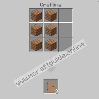How To Make Jungle Door In Minecraft