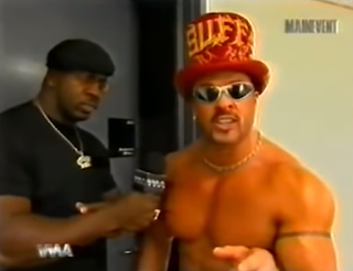 WWA - The Inception 2001 - Stevie Ray interviews Buff Bagwell