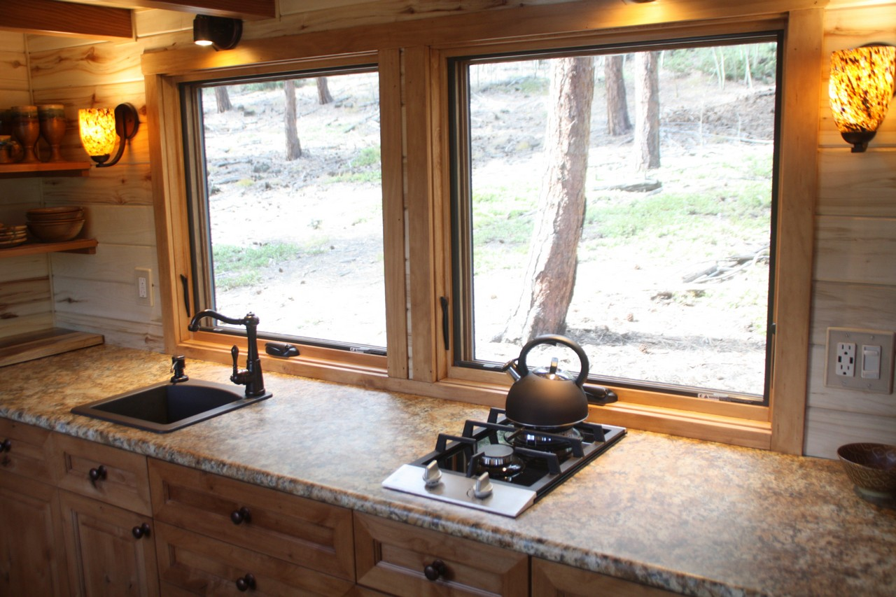 images simblissity tiny homes text if you can believe it this beautiful stone cottage measures just about 204 sq ft and is perfectly mobile