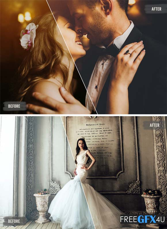50 Luxe Wedding LUTs Pack