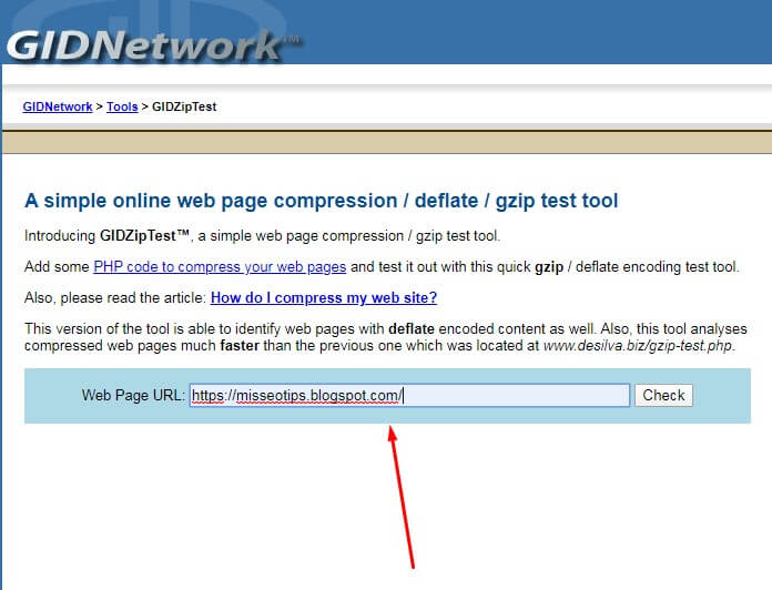 como utilizar gzip en blogger